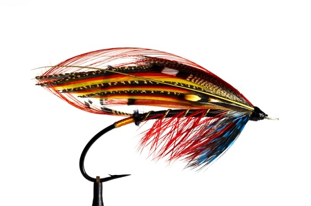 Fly fishing flies / lures for salmon Stock Photo - 8782816