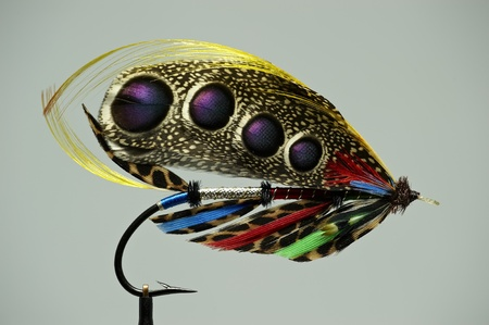 salmon leaping: Fly fishing flies  lures for salmon