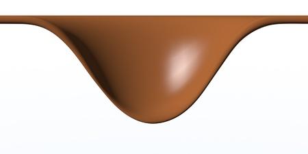 chocolate splash  Stock Photo - 9084378