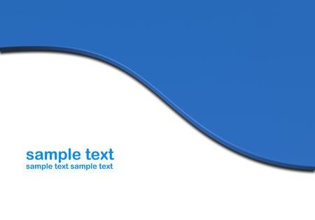 visual presentations: Blue background Stock Photo