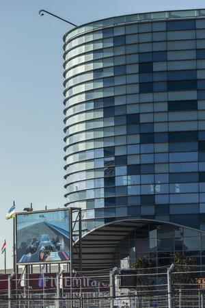Sochi, Russia -10 November 2014 : Formula One, Russian Grand Prix, Sochiautodrom, 16 stage.