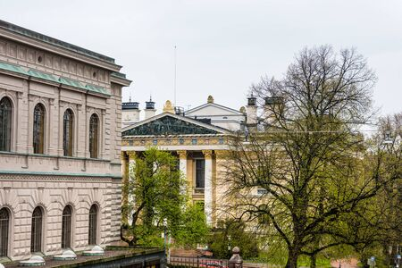 House of the Estates, a historical building in Helsinki, Finland. It is located opposite of the Bank of Finland building