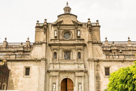 Mexico City Metropolitan Cathedral, the oldest and largest cathedral in all Latin America