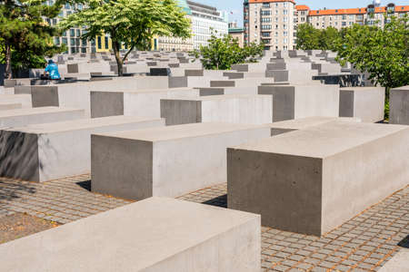 The Memorial to the Murdered Jews of Europe, or the Holocaust Memorial, is a memorial in Berlin to the Jewish victims of the Holocaust, designed by architect Peter Eisenman and engineer Buro Happold.