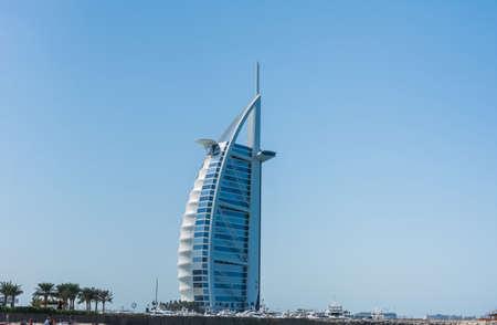 Hotel of Burj Al Arab Jumeirah, the world's most luxurious hotel