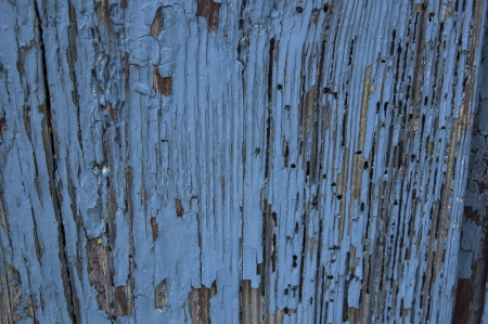 Old blue wooden wall background. From series backgrounds and textures Stock Photo - 24647576
