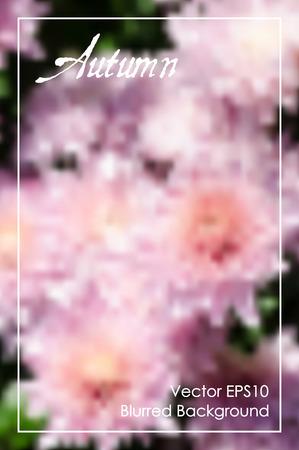 banner website: Abstracte bloemen kleurrijke wazig vector achtergrond. Beste achtergrond voor website, banner, presentatie, poster, kaart ontwerp Stock Illustratie