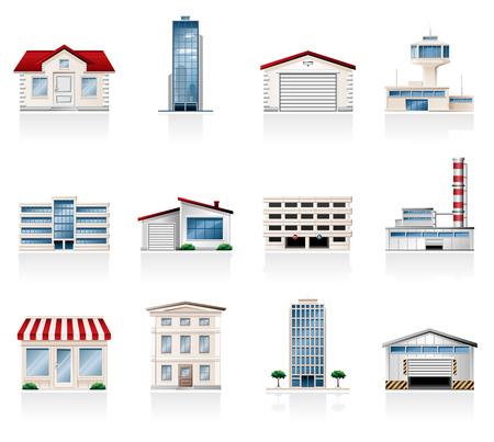 Buildings Ilustrace