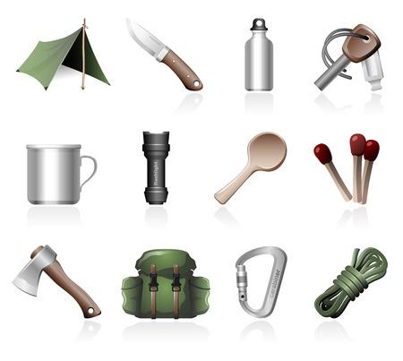 Bushcraft icons