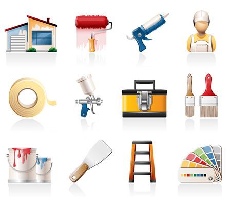aerografo: La pintura de iconos Casa