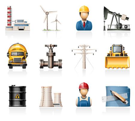 oliedrum: Industrie iconen