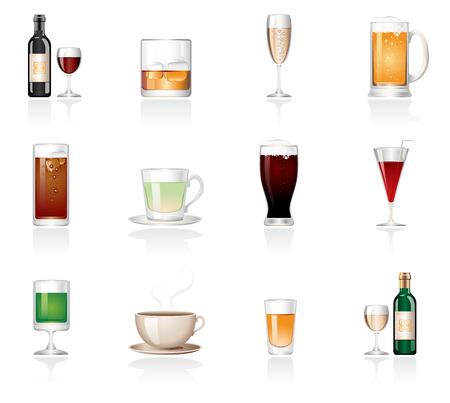 oliedrum: Drink icons