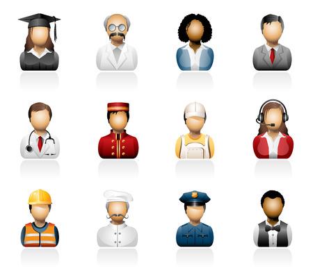 People icons Stock Illustratie