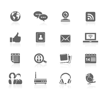 thumbs up icon: Black Icons - Communication