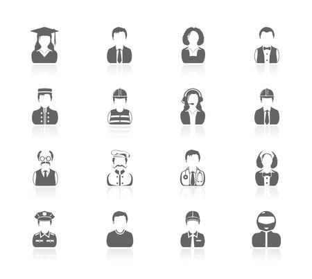 black people: Black Icons - People Illustration