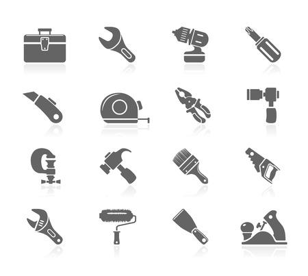 vice grip: Black Icons - Tools