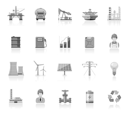 wind icon: Industry and energy icons