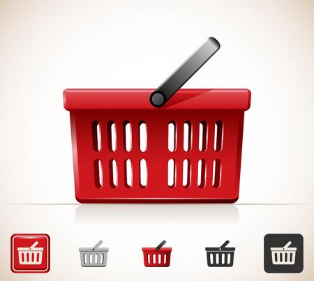 Shopping basket icon 免版税图像 - 35396001
