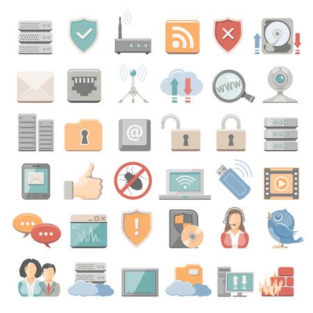 ethernet: Flat Icons - Network