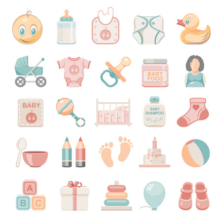 Flat Icons - Baby Vector