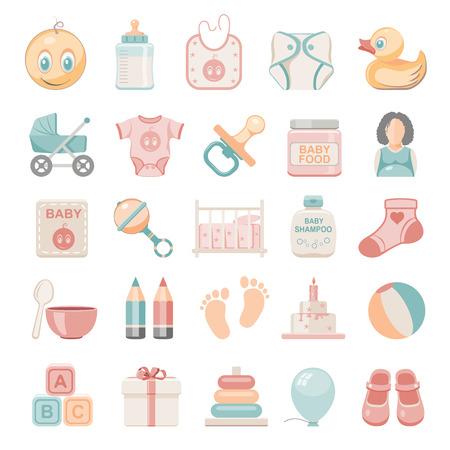 bottle: Flat Icons - Baby