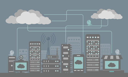 cloud technology: Digital City