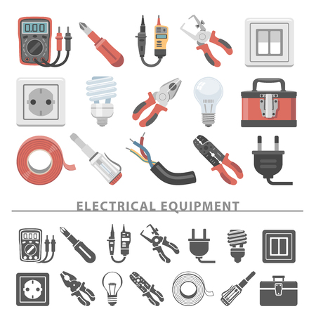tester: Flat Icons - Electrical Equipment