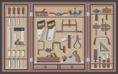rasp: Woodworking tool cabinet