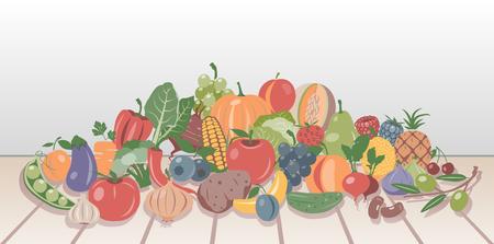vegatables: Fruits and Vegetables