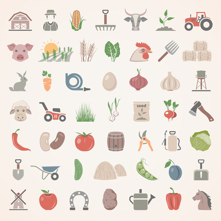 Flat Icons - Farm