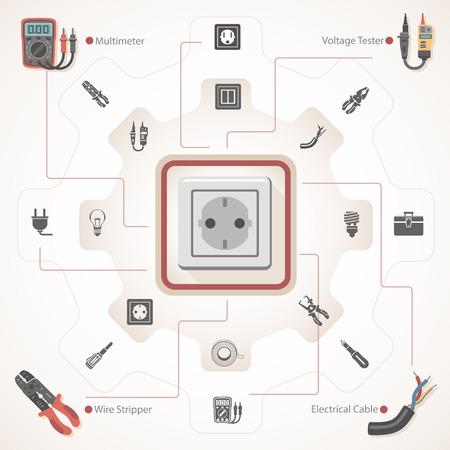 Electrical Equipment Illustration