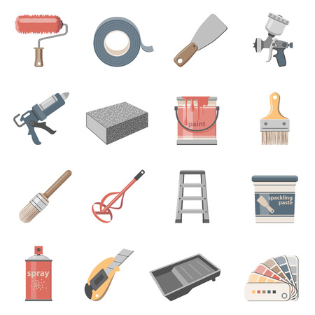 House Painting Icon Set