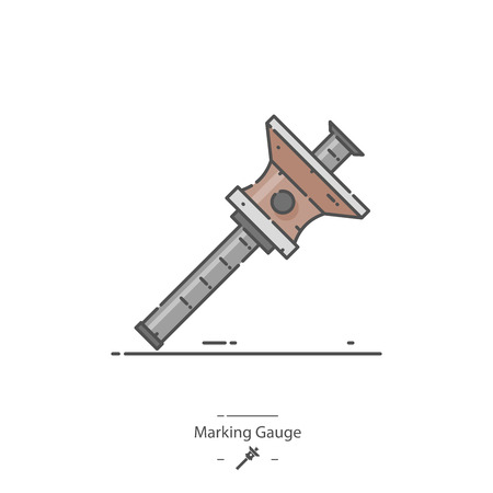 Marking gauge - Line color icon