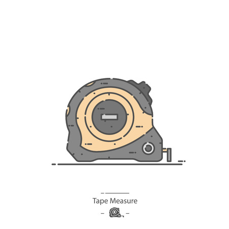 Tape measure - Line color icon