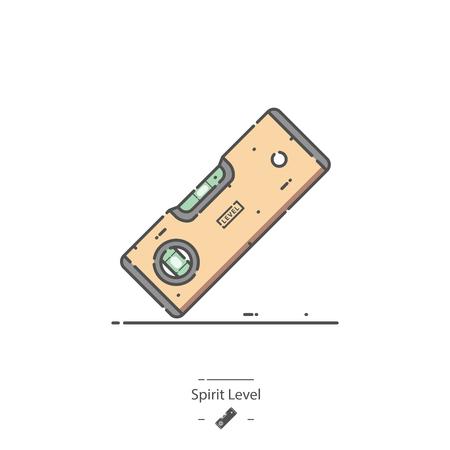 Spirit level - Line color icon