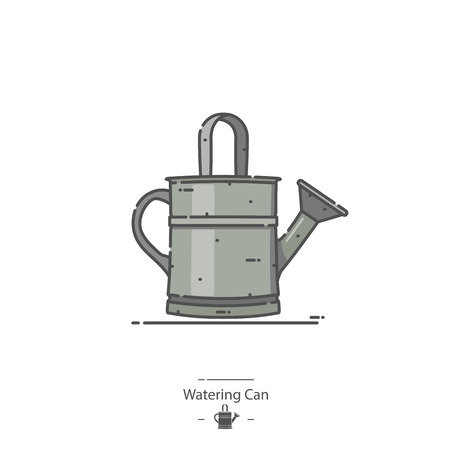 Watering Can - Line color icon