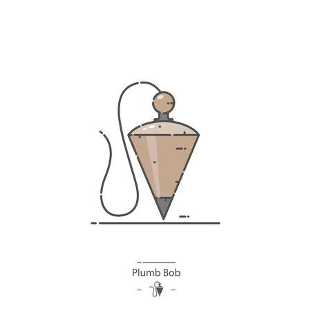 Plumb Bob - Line color icon