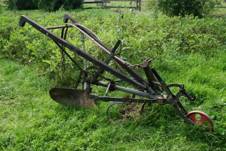 old hand plough Stock Photo - 14677012