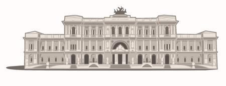 palazzo: Palazzo di Giustizia Illustration