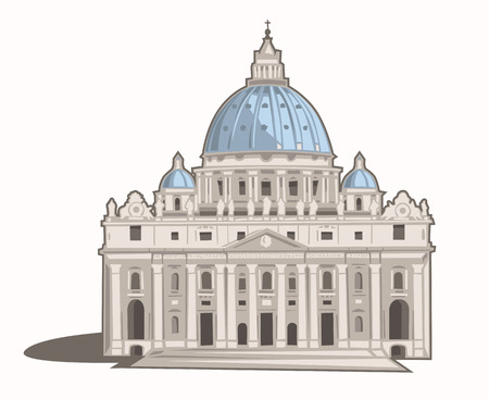 St  Peter s Basilica Illustration