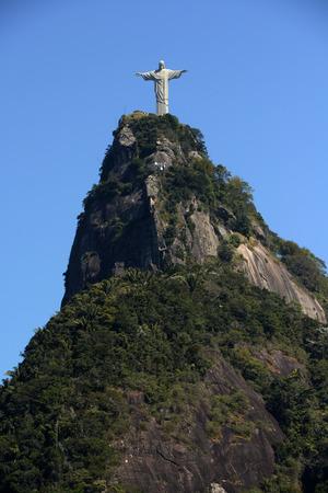 rio de janeiro: Corcovado Mountain in Rio de Janeiro