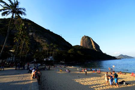 shortest: Beach at Rio de Janeiro