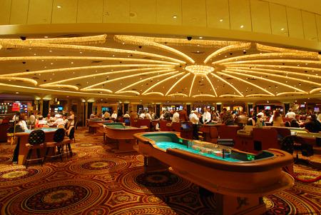 Casino à Las Vegas Caesars palsce Hall Hôtel Banque d'images - 41228875