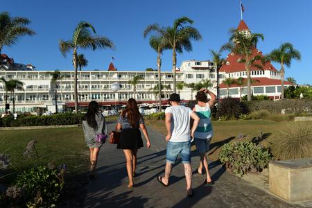 Coronado Hotel San Diego Editorial