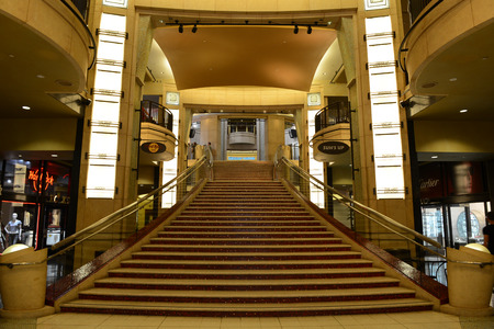 Interior view of Dolby theatre at Hollywood Walk of Fame, Los Angeles