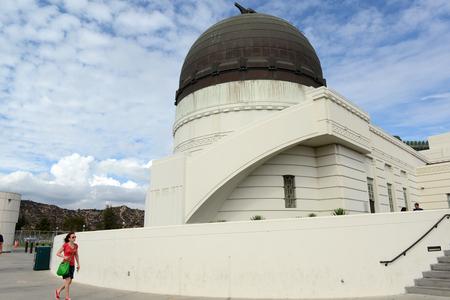 Losangeles Griffith Park Observatory Редакционное
