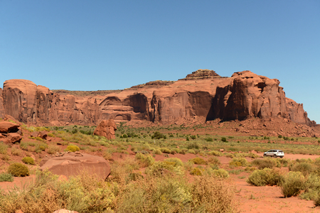 Monument Valley Navajo Tribal Park Stok Fotoğraf