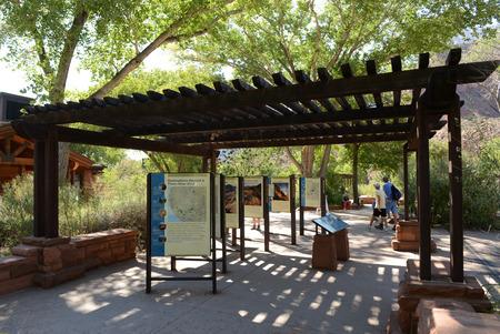 Zion National Park Редакционное