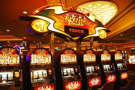 Las vegas slot slot machines Banque d'images - 84303926