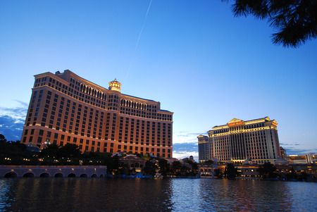 Las Vegas streetscape